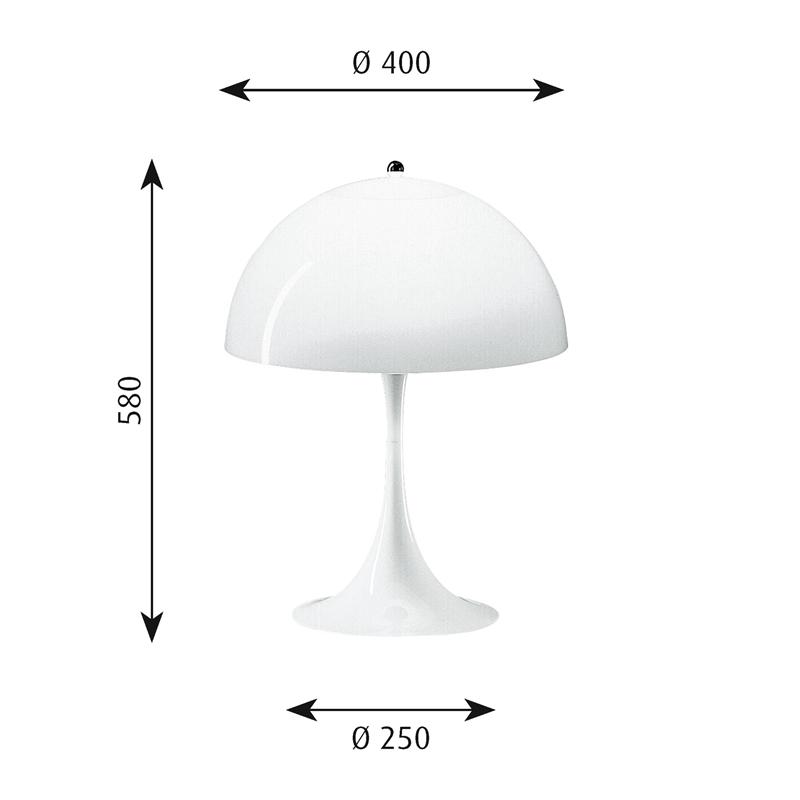 Panthella bordslampa